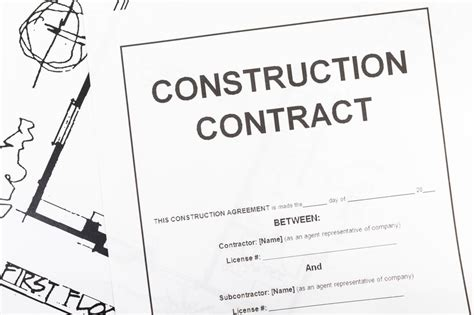 Construction Contract Forms